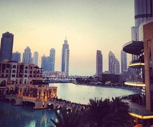 city, Dubai, and view image