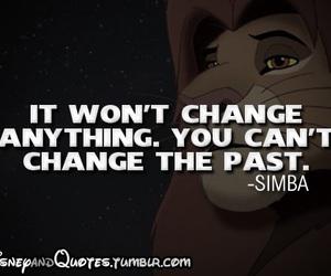 disney, simba, and quote image