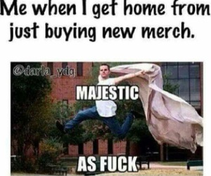 funny and band merch image