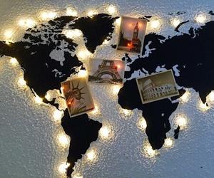 lights, travel, and world image