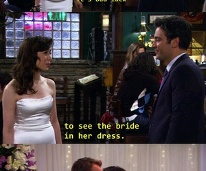 how i met your mother, ted mosby, and Barney Stinson image