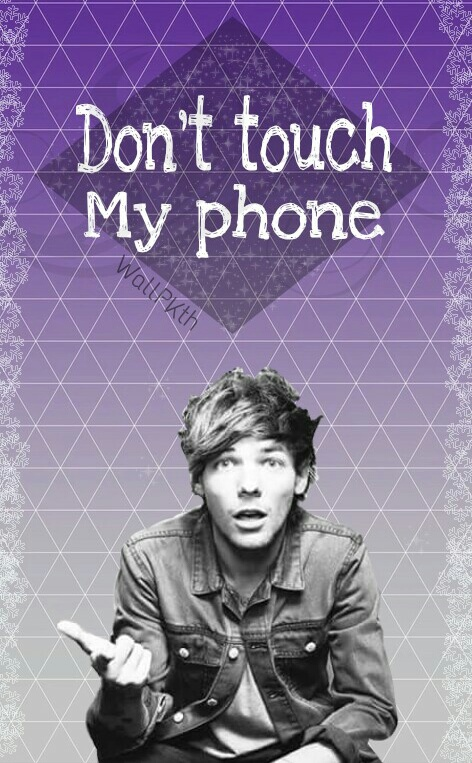 Don T Touch My Phone By Wallpkth On We Heart It