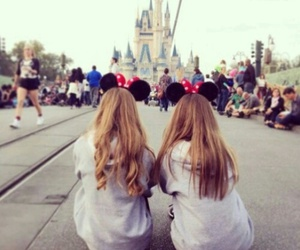 friends, girl, and disney image