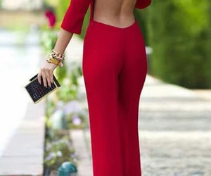 red, fashion, and elegant image