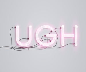 ugh, pink, and light image