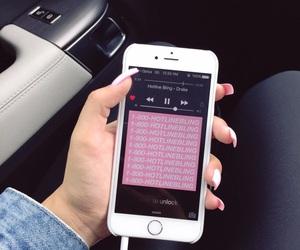 Drake, iphone, and music image