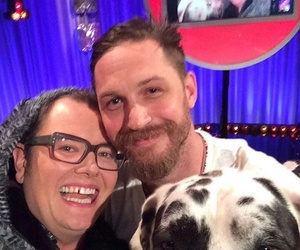 dog, interview, and tom hardy image
