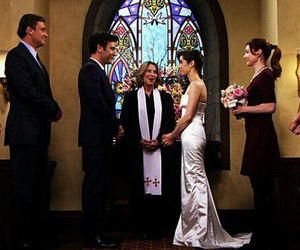 Barney Stinson, lily aldrin, and tracy mcconell image