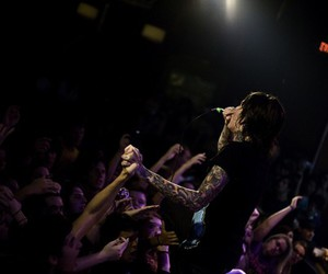 concert, oli sykes, and zombieguts at weheartit image