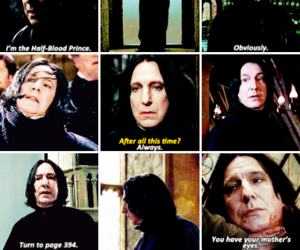 actor, alan rickman, and harry potter image