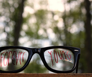 Forever Young, glasses, and young image