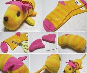 diy, dog, and socks image