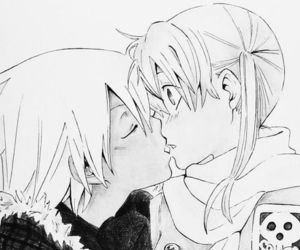 soul eater, anime, and kiss image