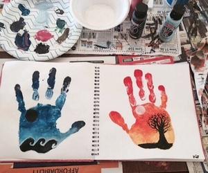 dibujos and pintura image