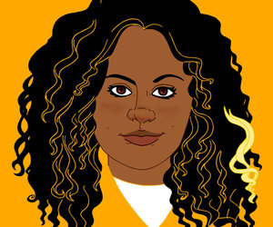 art, orange is the new black, and taystee image