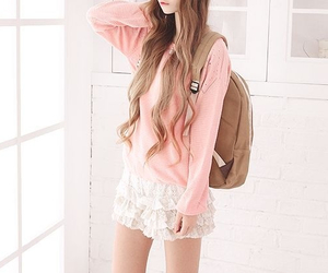 asian fashion, kfashion, and knit top image
