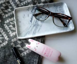 glasses, tonymoly, and kbeauty image