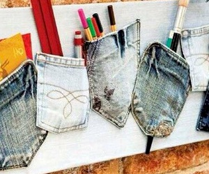 jeans, diy, and ideas image