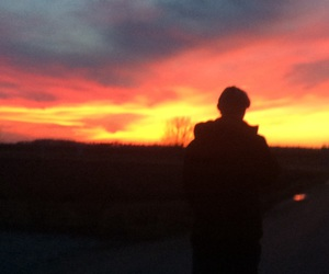 boy, sunset, and czechboy image