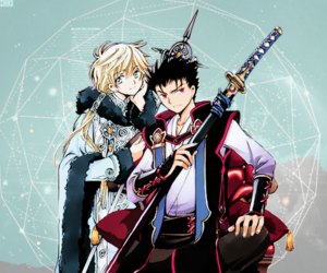 clamp, kurogane, and fye image