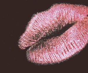 kiss, lips, and pink image