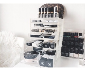chanel, cosmetics, and Louis Vuitton image