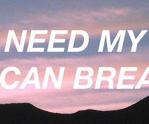 break, heart, and Lyrics image