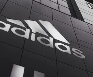 adidas, black, and Logo image