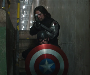 civil war, captain america, and winter soldier image