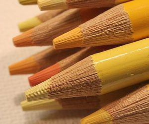 yellow, pencil, and photography image