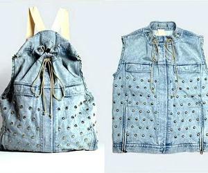 bag, diy, and backpack image
