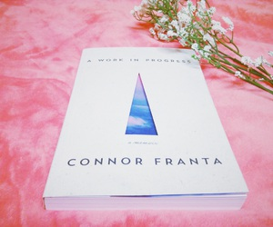 book, work in progress, and conner franta image