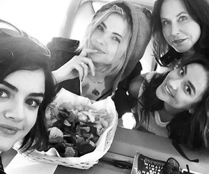 ashley benson, lucy hale, and shay mitchell image