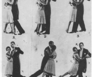 dance and vintage image