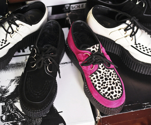 shoes, creepers, and platform image