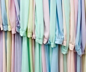 pastel, clothes, and dress image