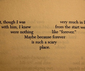 forever, text, and book image