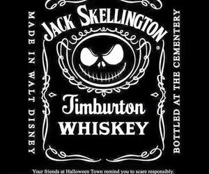 jack skellington, tim buton, and whiskey image