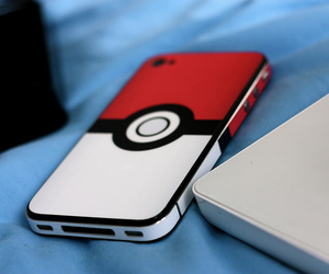 pokemon, iphone, and phone image