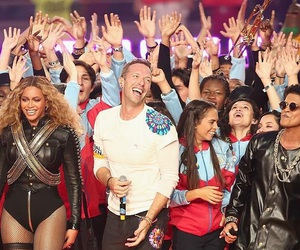 50, coldplay, and super bowl image