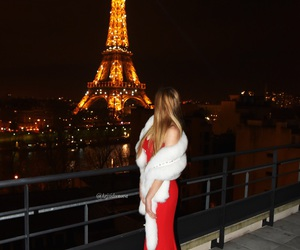 beauty, tower, and eiffel image