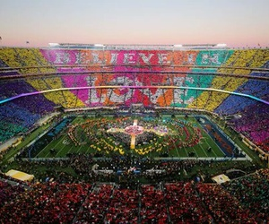 coldplay, love, and super bowl image