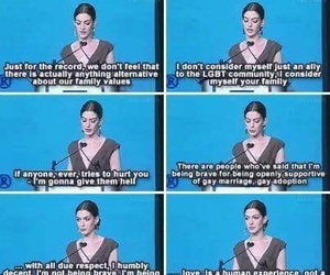 Anne Hathaway and gay image