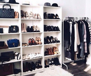 shoes, clothes, and room image