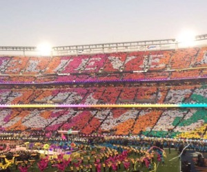 coldplay, believe in love, and super bowl 50 image