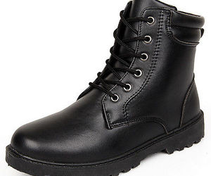boots, ebay, and men's shoes image