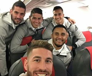 football, real madrid, and selfie image