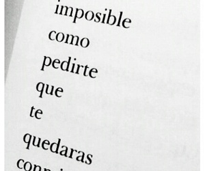 amor, frases, and imposible image