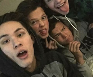 taylor caniff, aaron carpenter, and magcon image