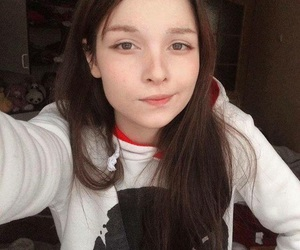 girl, pale, and russian image